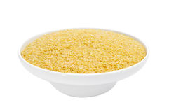 Uncooked pastina Royalty Free Stock Photos