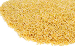 Uncooked pastina Royalty Free Stock Images