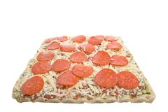 Uncooked pizza Stock Image