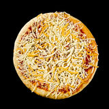 Uncooked pizza Royalty Free Stock Photography