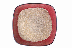 Bowl of Quinoa Grains Royalty Free Stock Photo