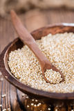 Uncooked Quinoa Stock Photography