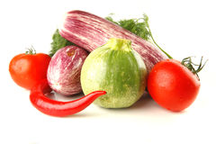 Uncooked raw vegetables Royalty Free Stock Photo