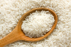 Uncooked rice royalty free stock photo