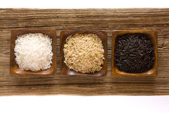 Uncooked rice Royalty Free Stock Images