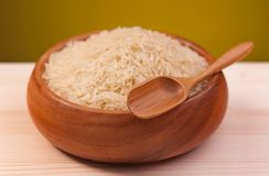 Uncooked rice Stock Photos