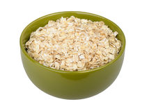 Uncooked rolled oats Stock Image