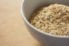 Uncooked rolled oats Royalty Free Stock Image