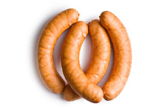 Uncooked sausages Royalty Free Stock Photo