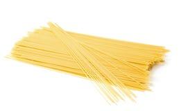 uncooked spagetti Royaltyfri Fotografi