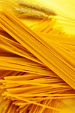 Uncooked spaghetti Royalty Free Stock Photo