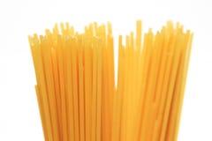 Uncooked spaghetti Stock Photo