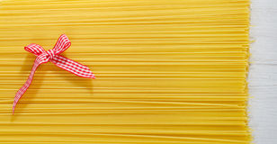 Uncooked spaghetti Royalty Free Stock Photography