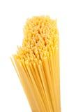 Uncooked spaghetti (pasta) Royalty Free Stock Photos