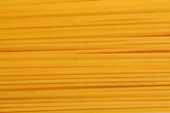 Uncooked spaghetti pasta. Seen in detail Stock Image