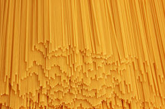 Uncooked spaghettis Royalty Free Stock Image