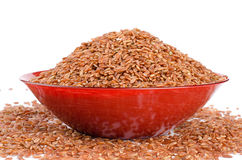 Uncooked Thai brown rice Stock Image