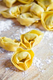 Uncooked tortellini Royalty Free Stock Photos
