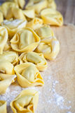 Uncooked tortellini Royalty Free Stock Photography