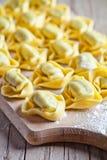 Uncooked tortellini Stock Image