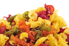 Uncooked vegetables gigli pasta Stock Photography