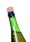 Without uncorking champagne bottle Royalty Free Stock Photography