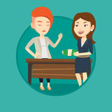 Uncorrupted woman refusing to take bribe. Royalty Free Stock Photography