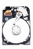 An Uncovered Hard Disk Royalty Free Stock Image
