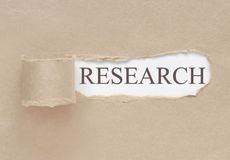 Uncovering research Stock Photos
