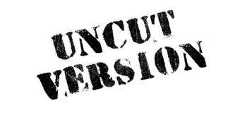 Uncut избитая фраза версии Стоковое Изображение