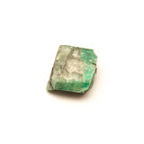 Uncut emerald stone detail Stock Photos