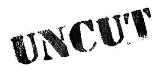 Uncut rubber stamp. Grunge design with dust scratches. Effects can be easily removed for a clean, crisp look. Color is easily changed Stock Images