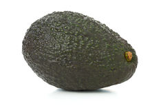 Uncut, whole, ripe avocado fruit Royalty Free Stock Photography