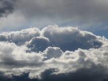 Und dann öffnen sich die Gatter des Himmels? Lizenzfreies Stockfoto