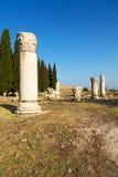 und der römisches pamukkale alte Bau in Asien Stockfotografie