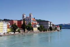 Und Dunau de Passau Imagem de Stock Royalty Free