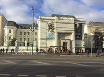 19. und europäische und amerikanische Kunst des 20. Jahrhunderts durch Pushkin-Museum in Moskau, Russland Lizenzfreie Stockbilder