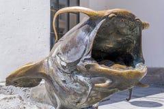 Und Fischereimuseum de Deutsches Jagd- em Munich, Baviera Foto de Stock