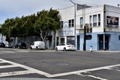 17. und Folsom-Straßen der niedrigste Punkt in San Francisco, 2 Lizenzfreies Stockfoto