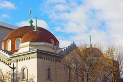 6. und I historische Synagoge in Chinatown-Nachbarschaft, Washington DC Lizenzfreie Stockfotografie