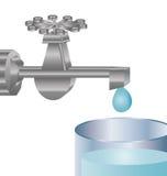 Und Leitungswasser Stockbilder