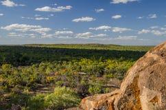 Undara火山的国家公园,昆士兰,澳大利亚 免版税库存照片