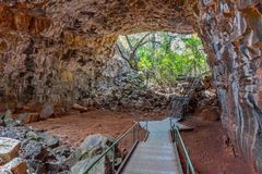 Undara Volcanic National Park - lava tubes Stock Photo