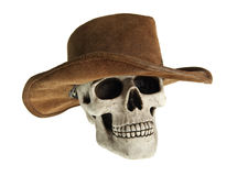 Undead cowboy royalty free stock image