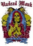Undead monk royalty free illustration