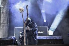 Undead prorokowania w Hellfest 2016 obraz stock