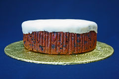 undecorated cake Arkivbilder
