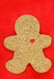Undecorated Gingerbread Cookie Stock Images