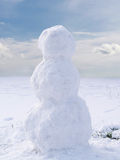 Undecorated Snowman Stock Photos