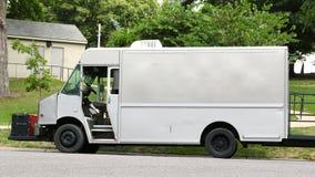 Undecorated spaceru jedzenia ciężarówka fotografia stock